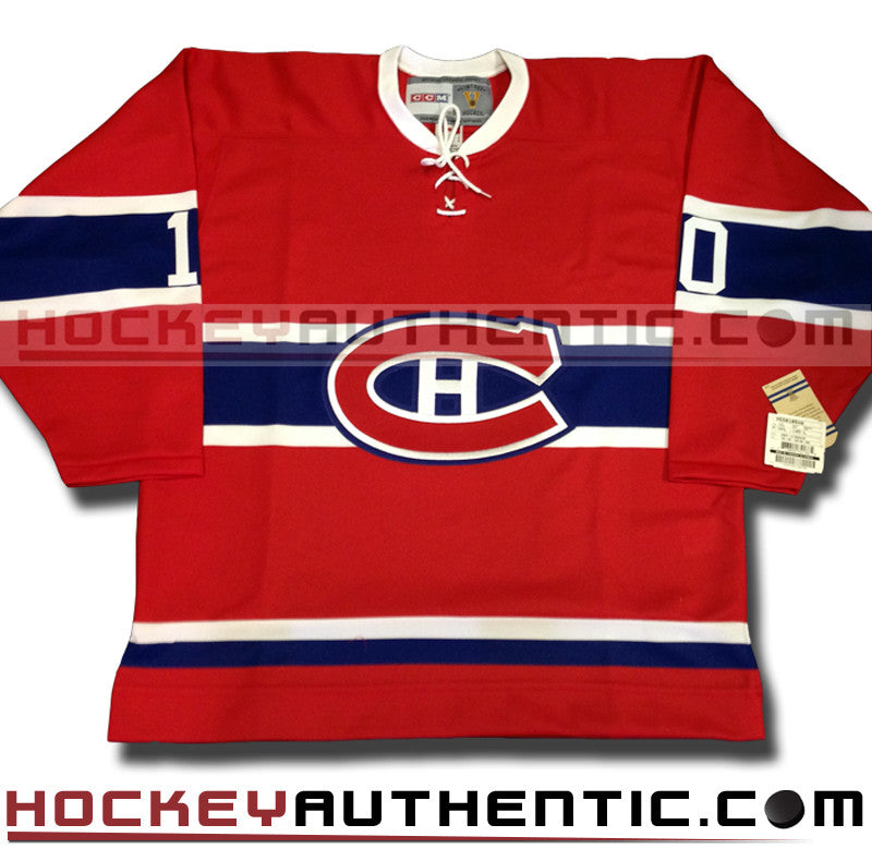 best loved 8e55e 24b2f GUY LAFLEUR SIGNED MONTREAL CANADIENS CCM VINTAGE 1973 REPLICA NHL JERSEY