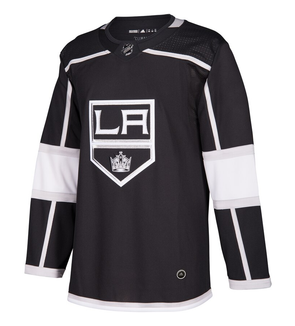LOS ANGELES KINGS HOME BLACK AUTHENTIC PRO ADIDAS NHL JERSEY - Hockey Authentic