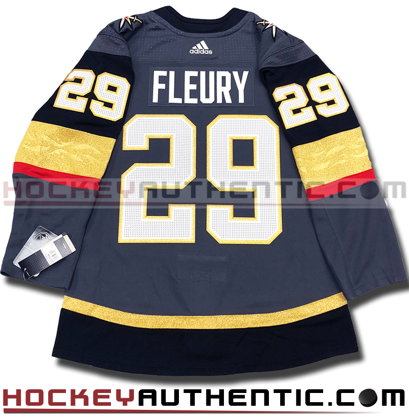 new concept 73cee 7843f MARC-ANDRE FLEURY VEGAS GOLDEN KNIGHTS AUTHENTIC PRO ADIDAS NHL JERSEY -