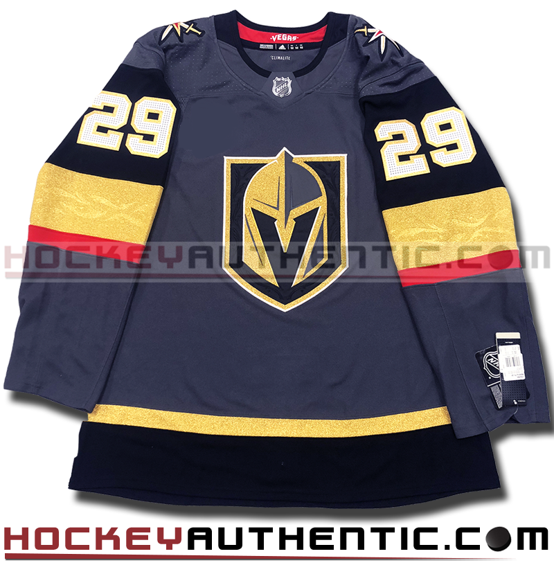 best service f88cb 447d7 MARC-ANDRE FLEURY VEGAS GOLDEN KNIGHTS AUTHENTIC PRO ADIDAS NHL JERSEY