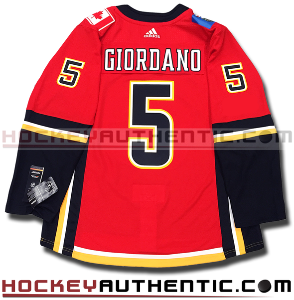 MARK GIORDANO CALGARY FLAMES AUTHENTIC PRO ADIDAS NHL JERSEY - Hockey Authentic