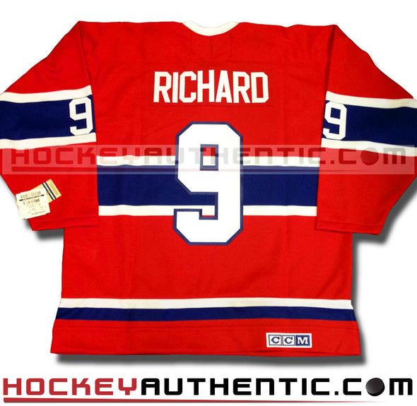 MAURICE THE ROCKET RICHARD MONTREAL CANADIENS CCM VINTAGE 1959 REPLICA NHL JERSEY - Hockey Authentic