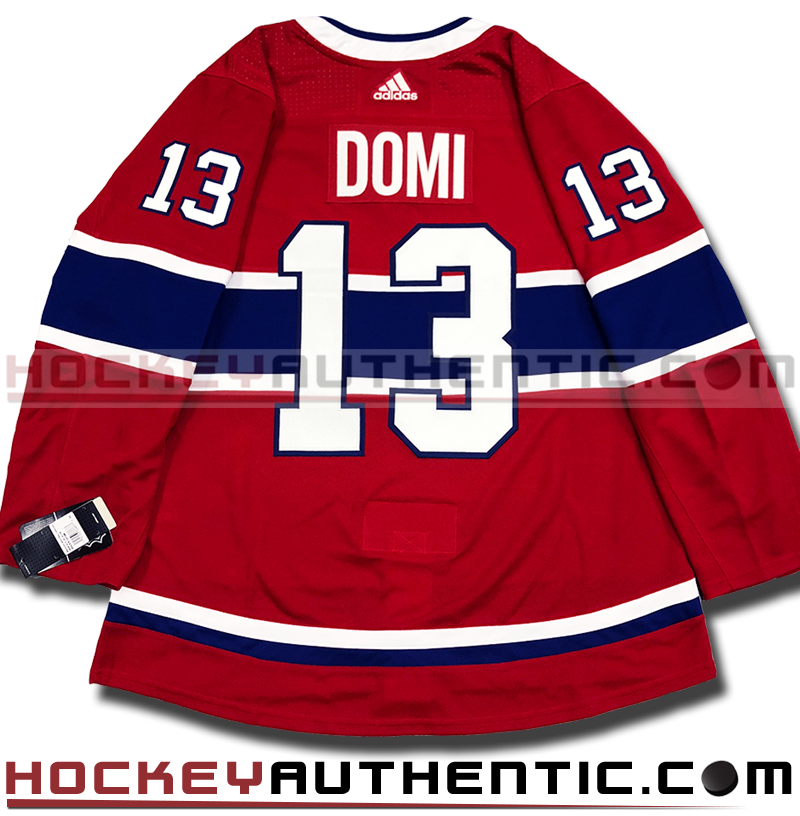 MAX DOMI MONTREAL CANADIENS AUTHENTIC PRO ADIDAS NHL JERSEY – Hockey  Authentic a9c9e864007