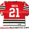 STAN MIKITA CHICAGO BLACKHAWKS CCM VINTAGE 1963 REPLICA NHL JERSEY