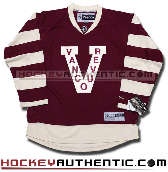 ANY NAME AND NUMBER VANCOUVER MILLIONAIRES PREMIER REEBOK NHL JERSEY - Hockey Authentic