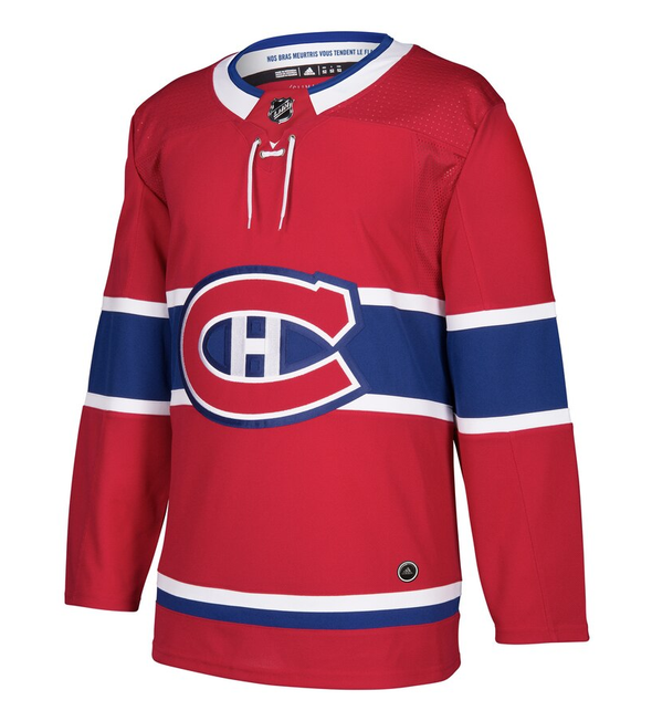 MONTREAL CANADIENS HOME RED AUTHENTIC PRO ADIDAS NHL JERSEY - Hockey Authentic