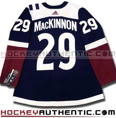 NATHAN MACKINNON COLORADO AVALANCHE THIRD AUTHENTIC PRO ADIDAS NHL JERSEY - Hockey Authentic