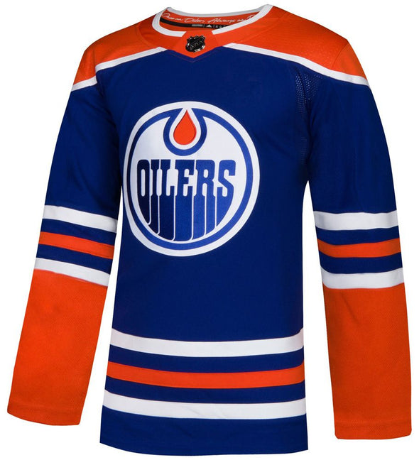 ANY NAME AND NUMBER EDMONTON OILERS THIRD AUTHENTIC PRO ADIDAS NHL JERSEY (ROYAL 2018) - Hockey Authentic