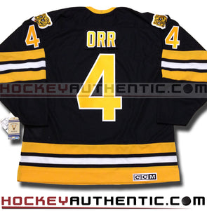 BOBBY ORR BOSTON BRUINS CCM VINTAGE 1975 REPLICA NHL JERSEY - Hockey Authentic