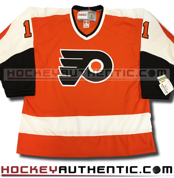 BERNIE PARENT PHILADELPHIA FLYERS CCM VINTAGE 1974 REPLICA NHL JERSEY - Hockey Authentic
