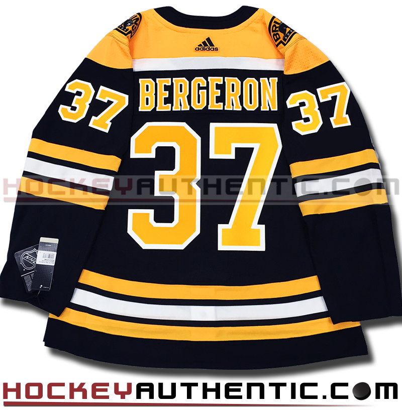 new style ee5af 94aad PATRICE BERGERON BOSTON BRUINS AUTHENTIC PRO ADIDAS NHL JERSEY -