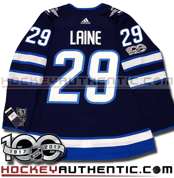 PATRIK LAINE WINNIPEG JETS AUTHENTIC PRO ADIDAS NHL JERSEY - Hockey Authentic