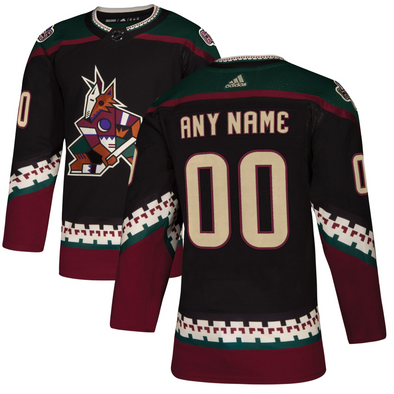 ANY NAME AND NUMBER ARIZONA COYOTES THIRD KACHINA AUTHENTIC PRO ADIDAS NHL JERSEY - Hockey Authentic