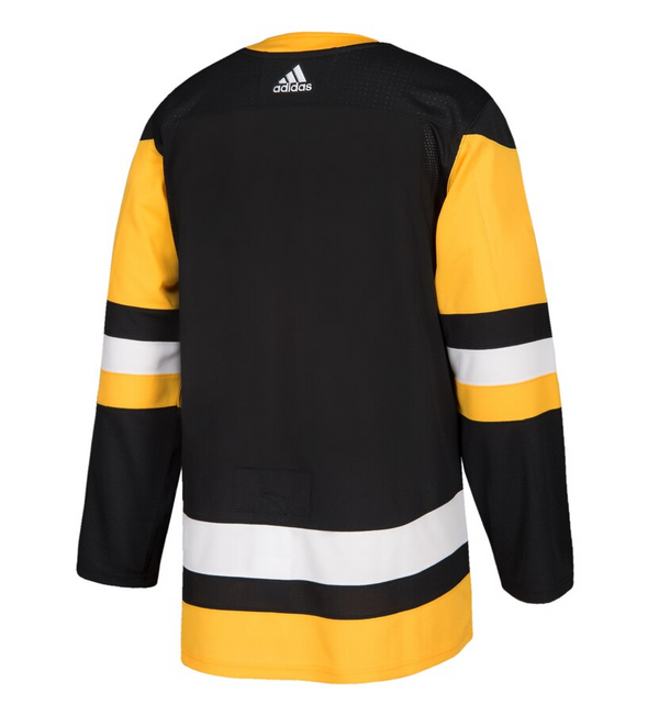 PITTSBURGH PENGUINS HOME BLACK AUTHENTIC PRO ADIDAS NHL JERSEY - Hockey Authentic