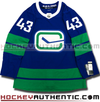 QUINN HUGHES VANCOUVER CANUCKS THIRD HERITAGE AUTHENTIC PRO ADIDAS NHL JERSEY - Hockey Authentic