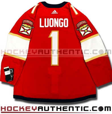 ROBERTO LUONGO FLORIDA PANTHERS AUTHENTIC PRO ADIDAS NHL JERSEY