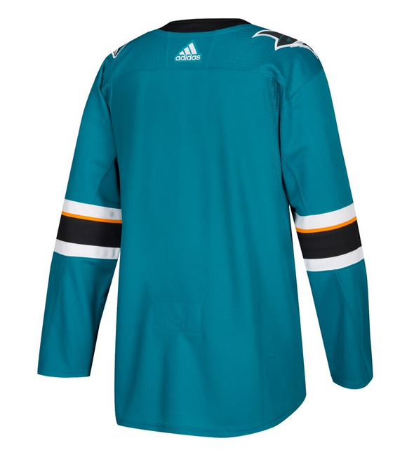 SAN JOSE SHARKS HOME TEAL AUTHENTIC PRO ADIDAS NHL JERSEY - Hockey Authentic