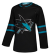 SAN JOSE SHARKS THIRD STEALTH BLACK AUTHENTIC PRO ADIDAS NHL JERSEY - Hockey Authentic