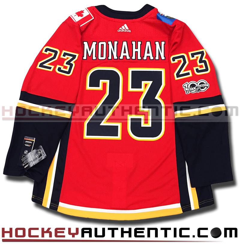official photos a212f d219c SEAN MONAHAN CALGARY FLAMES AUTHENTIC PRO ADIDAS NHL JERSEY