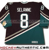 Teemu Selanne Anaheim Mighty Ducks 1997 CCM vintage jersey - Hockeyauthentic.com  - 1