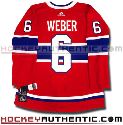 SHEA WEBER MONTREAL CANADIENS AUTHENTIC PRO ADIDAS NHL JERSEY (2018-19 SEASON)