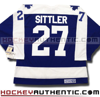 DARRYL SITTLER TORONTO MAPLE LEAFS CCM VINTAGE 1978 REPLICA NHL JERSEY - Hockey Authentic