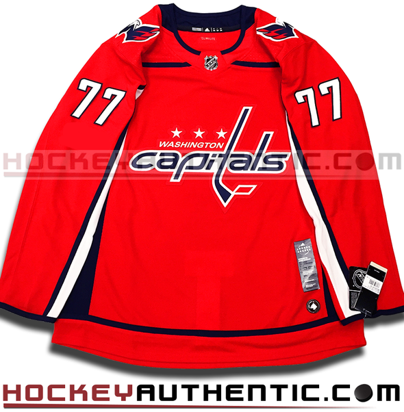 TJ OSHIE WASHINGTON CAPITALS AUTHENTIC PRO ADIDAS NHL JERSEY - Hockey Authentic