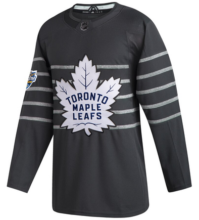 AUSTON MATTHEWS 2020 ALL STAR GAME STORM GREY TORONTO MAPLE LEAFS AUTHENTIC PRO ADIDAS NHL JERSEY - Hockey Authentic
