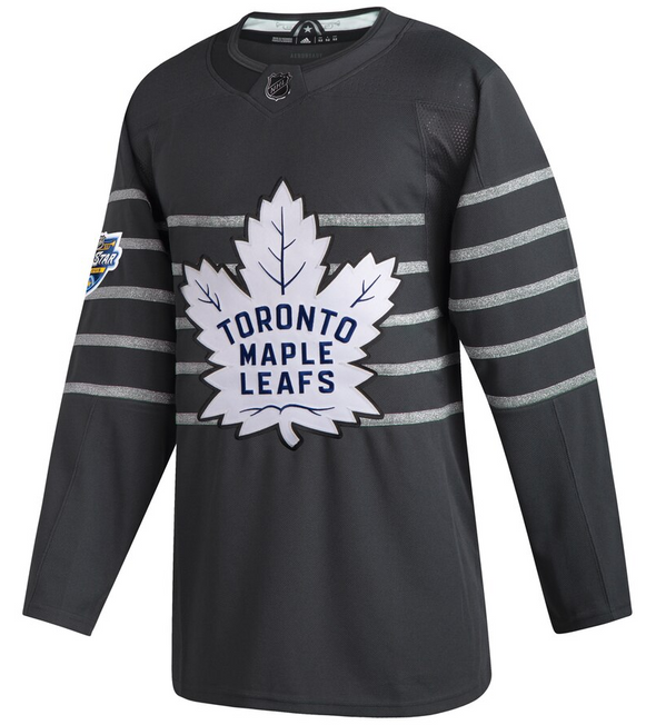 MITCH MARNER 2020 ALL STAR GAME STORM GREY TORONTO MAPLE LEAFS AUTHENTIC PRO ADIDAS NHL JERSEY - Hockey Authentic