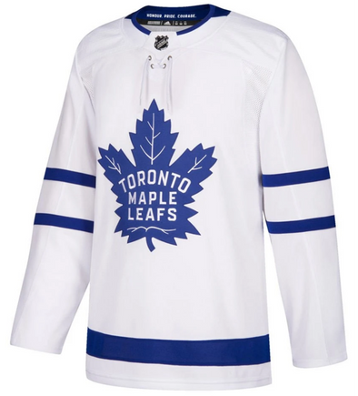 TORONTO MAPLE LEAFS AWAY WHITE AUTHENTIC PRO ADIDAS NHL JERSEY - Hockey Authentic