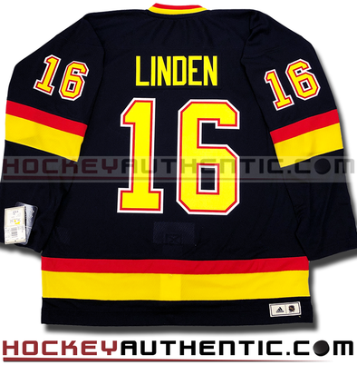 TREVOR LINDEN VANCOUVER CANUCKS ADIDAS TEAM CLASSICS 1994 NHL JERSEY - Hockey Authentic