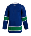 VANCOUVER CANUCKS HOME BLUE AUTHENTIC PRO ADIDAS NHL JERSEY - Hockey Authentic