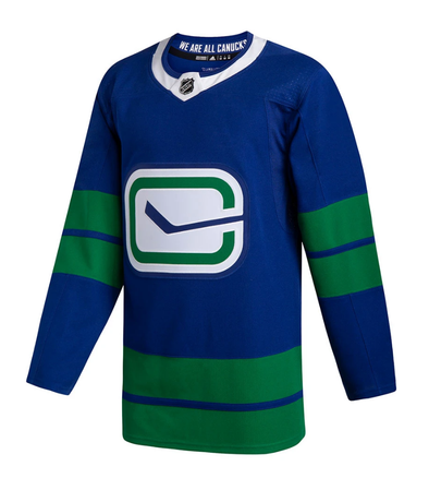 VANCOUVER CANUCKS THIRD HERITAGE AUTHENTIC PRO ADIDAS NHL JERSEY - Hockey Authentic