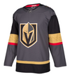 VEGAS GOLDEN KNIGHTS HOME GREY AUTHENTIC PRO ADIDAS NHL JERSEY - Hockey Authentic