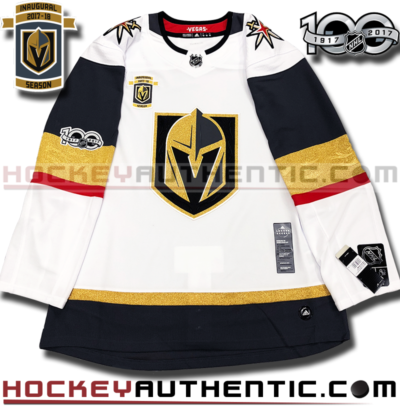 10c5bdc3c VEGAS GOLDEN KNIGHTS AUTHENTIC PRO ADIDAS NHL JERSEY INAUGURAL EDITION