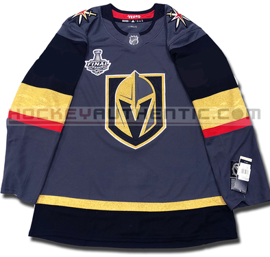 VEGAS GOLDEN KNIGHTS AUTHENTIC PRO ADIDAS NHL JERSEY 2018 STANLEY CUP FINAL EDITION