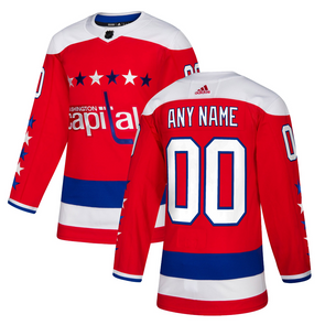 ANY NAME AND NUMBER WASHINGTON CAPITALS THIRD ALTERNATE AUTHENTIC PRO ADIDAS NHL JERSEY - Hockey Authentic