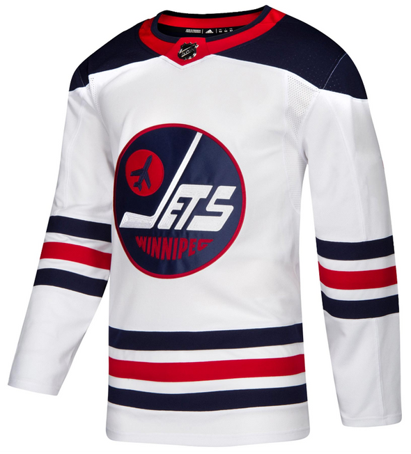WINNIPEG JETS HERITAGE WHITE AUTHENTIC PRO ADIDAS NHL JERSEY - Hockey Authentic