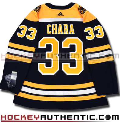 ZDENO CHARA BOSTON BRUINS AUTHENTIC PRO ADIDAS NHL JERSEY - Hockey Authentic