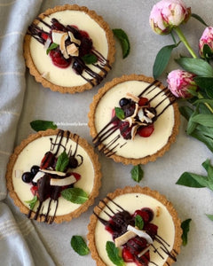 Vanilla Bean & Berry Coconut Tartlet Recipe