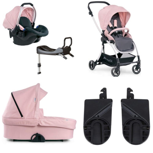 Hauck Eagle 4S Shop n Drive Pink 3 in 1 Travel System