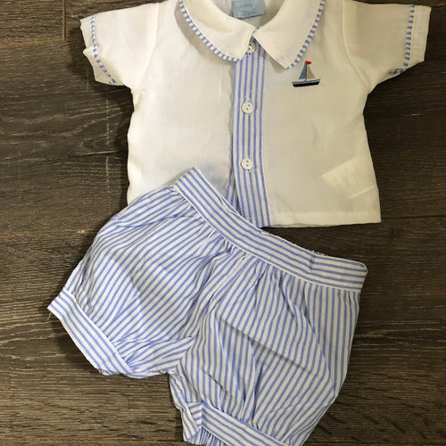 Baby Boy's Summer Two Piece Outfit