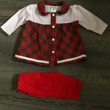 Load image into Gallery viewer, Baby Girl's Tartan Dress & Leggings NEW ARRIVAL