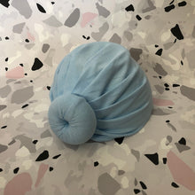 Load image into Gallery viewer, Baby Girl's Turban with Donut 0-6 Months