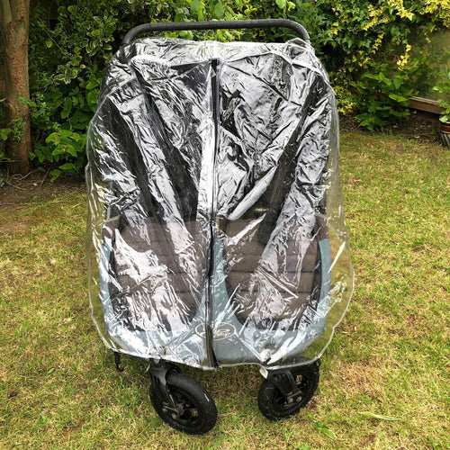 PVC Raincover to fit Babyjogger Baby Jogger City Mini Twin GT Pushchair Stroller