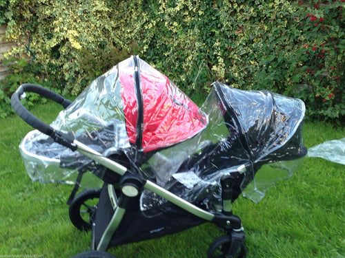 PVC Raincover to fit Babyjogger City Select Stroller (Twin Pack)