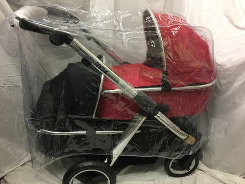 PVC Raincover to fit Babystyle Oyster Max Twin Pushchair or Twin Pram