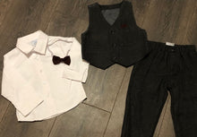Load image into Gallery viewer, Boy's Suit with Shirt, Waistcoat & Tie