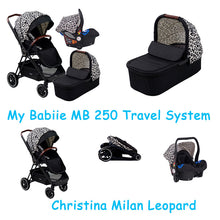 Load image into Gallery viewer, My Babiie MB250 Victoria Pram Travel System