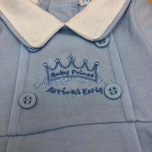 Load image into Gallery viewer, Baby Boy's Premature Baby Tiny Baby Outfit- Blue Prince - 3321